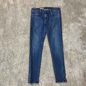 AG Adriano Goldschmied ZIP-UP Legging ANKLE JEANS